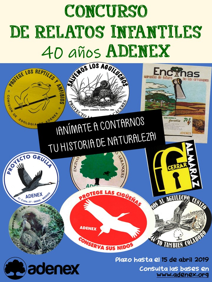 CARTEL RELATOS 40 ADENEX